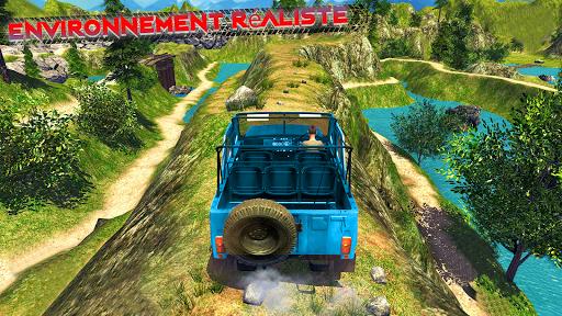 Code Triche Offroad Jeep Driving & Racing cascades apk mod screenshots 5