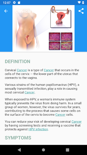 Dictionary Diseases&Disorders: symptoms, treatment  screenshots 3