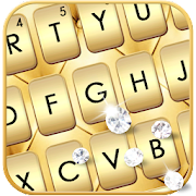 Gold Luxury Biz Keyboard Theme