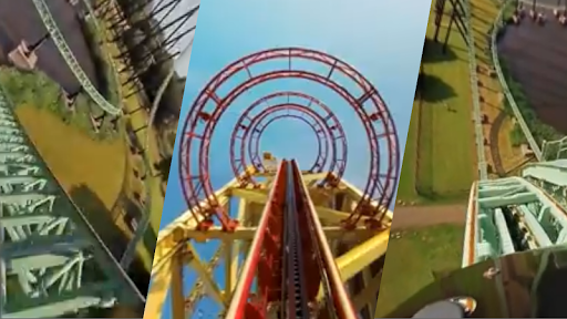 VR Thrills: Roller Coaster 360 (Cardboard Game) 2.1.7 Screenshots 12