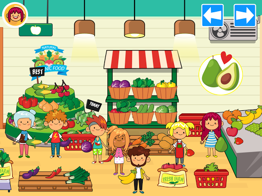 My Pretend Grocery Store - Supermarket Learning  screenshots 10