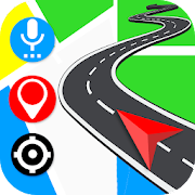 Gps Navigation: Road Maps Driving & Directions