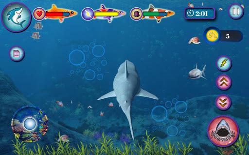Ocean Shark Simulator u2013 Animal Attack Simulator 0.1 screenshots 5