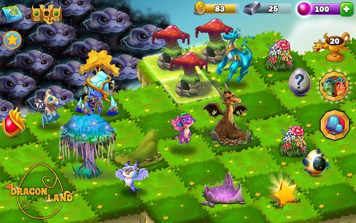Dragon Land - Merge, Collect & Evolve Dragons! screenshots 18