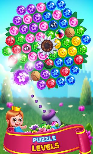 Flower Games - Bubble Shooter 4.2 screenshots 4