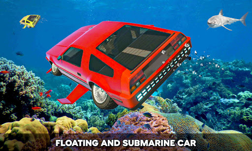 Floating Underwater Car Simulator  screenshots 3