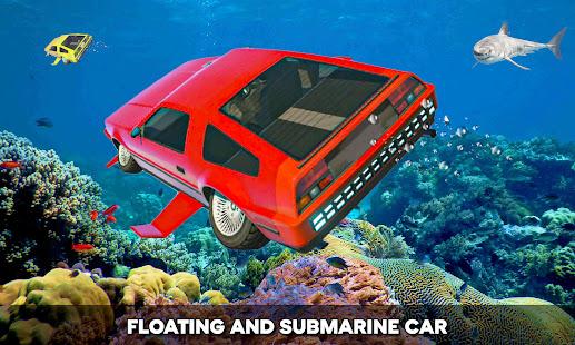 Simulador de carro subaquático flutuante 1.9 APK + Mod (Unlimited money) para Android