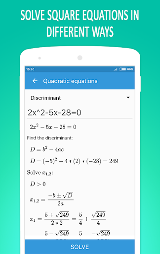 Math Equation Solver 4.5 screenshots 2