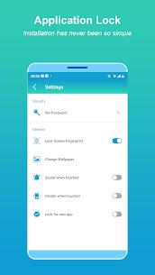 Blocarea aplicației – Amprentă digitală 5