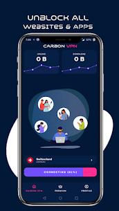 Carbon VPN Pro Premium – Ads Free Lifetime For Android 3