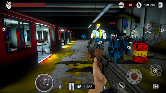 Zombie Conspiracy: Shooter MOD APK 1.670.0 (Free Purchase) 7