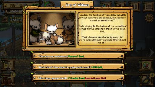 Ratropolis : CARD DEFENSE GAME apkdebit screenshots 7