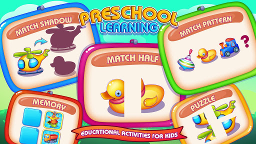 Preschool Learning : Brain Training Games For Kids apklade screenshots 1