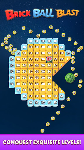 Brick Ball Blast: Free Bricks Ball Crusher Game 1.5.0 screenshots 3