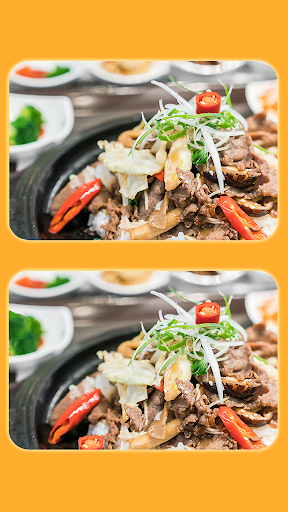 Find The Difference - Delicious Food Pictures screenshots 1