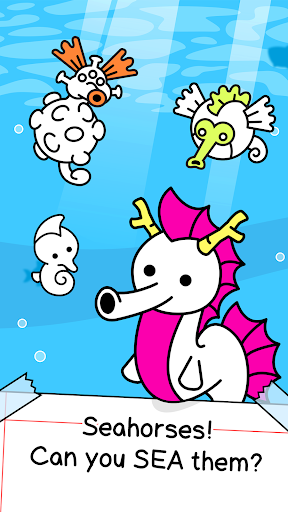 Seahorse Evolution - Merge & Create Sea Monsters 1.0.4 screenshots 1