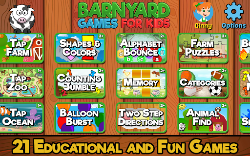 Barnyard Games For Kids modiapk screenshots 1