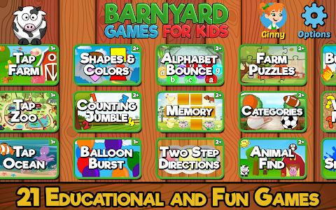 Barnyard Games For Kids 6.7