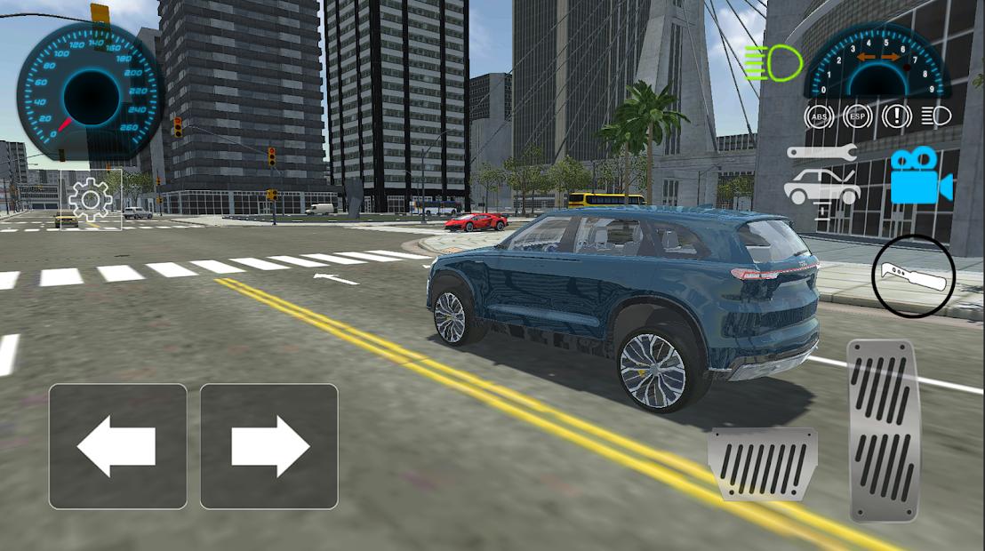 Car Driving Simulator : Extreme Speed