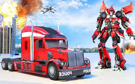 Indian Police Robot Transform Truck 1.14 screenshots 8