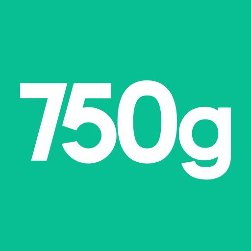 750g - 80 000 recettes