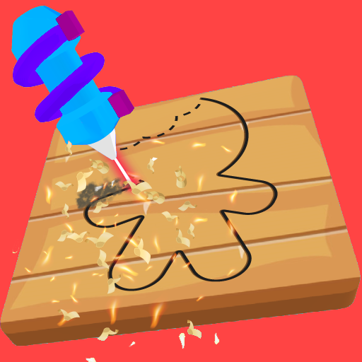 Cut and Paint Icon