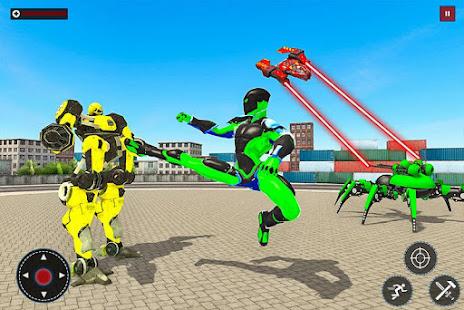 Flying Spider Rope Hero: Gangster Crime City 1.0 Screenshots 2