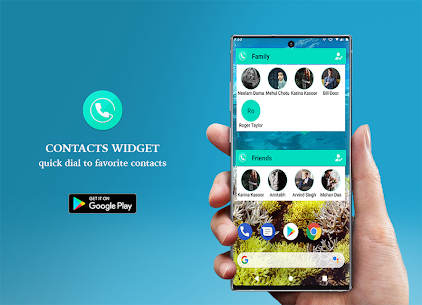 Contacts Widget – Quick Dial Widget – Speed Dial 1.8 Mod APK Latest Version 1