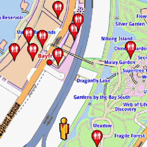 Singapore Amenities Map For PC Windows (7, 8, 10 and 10x) & Mac Computer