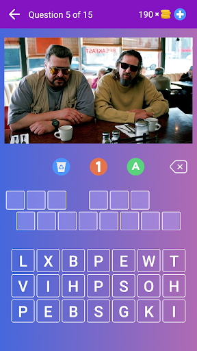 Guess the Movie from Picture or Poster u2014 Quiz Game 4.10 screenshots 1