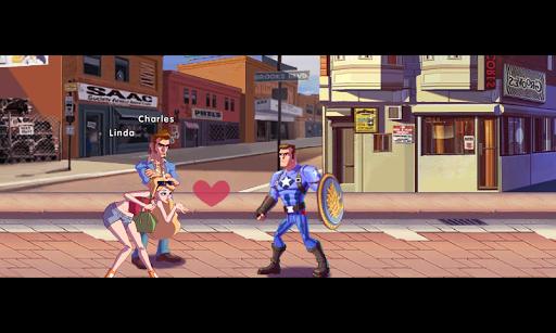 Superhero Captain X vs Kungfu Lee apkpoly screenshots 16