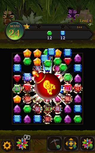 Secret Jungle Pop : Match 3 Jewels Puzzle 1.5.1 screenshots 18