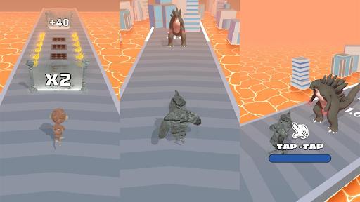 Animal Duel: Run with Kaiju Evolution  screenshots 4