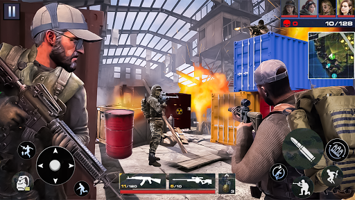 Real Commando Shooting FPS Game: Sniper Shooting  screenshots 4