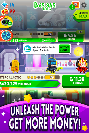 Cash, Inc. Money Clicker Game & Business Adventure  screenshots 3