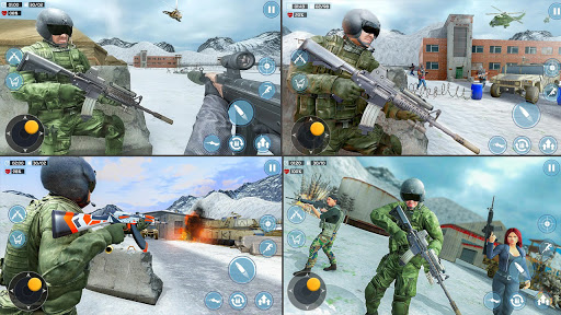 Modern Commando 3D: New Shooting- Army Games 2021 1.0.13 screenshots 2
