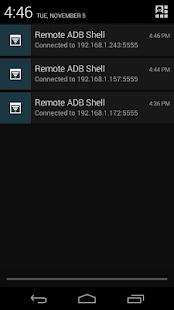 Remote ADB Shell