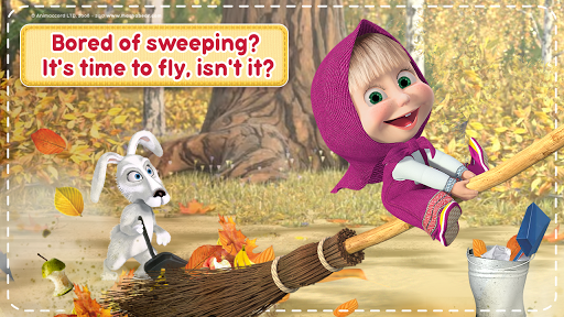 Masha and the Bear: House Cleaning Games for Girls 2.0.0 screenshots 8
