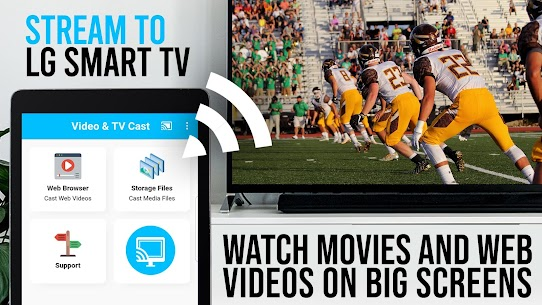 TV Cast   LG Smart TV | HD Video Streaming Apk 4