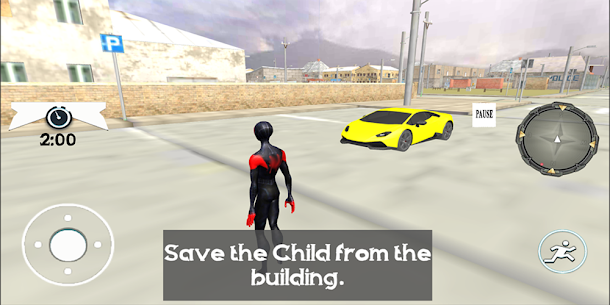 Spider Robe Hero : Vice Vegas Rescue Game Online Hack Android & iOS 3