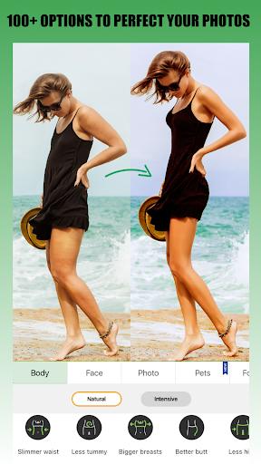 Retouch Me u2013 Body & Face editor. Skinny app  Screenshots 1