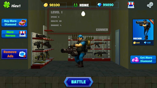 Heroes Strike PvP: MOBA and Battle Royale modavailable screenshots 5