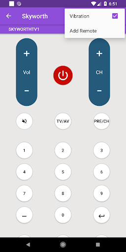 Universal Skyworth Remote Control modavailable screenshots 6