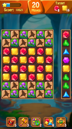 Jewels Original - Classical Match 3 Game 1.0.3 screenshots 3