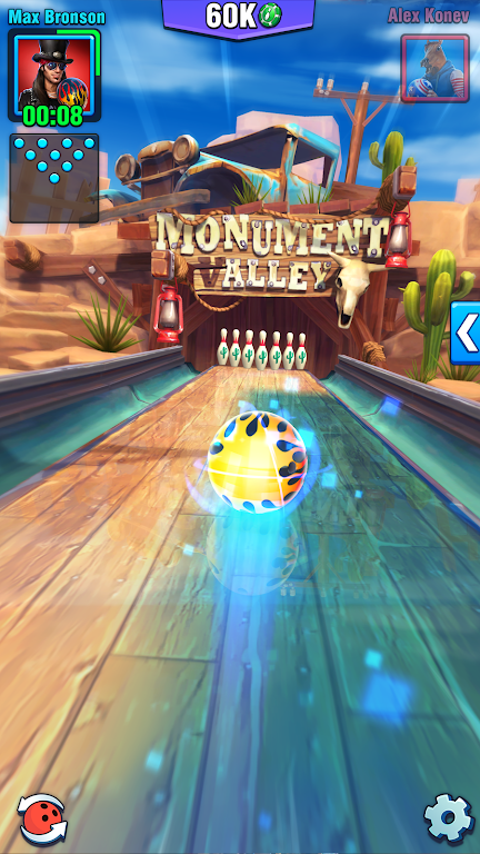 Bowling Crew — 3D bowling game poster 0