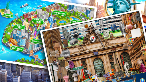 Hidden Objects New York City Puzzle Object Game  screenshots 23