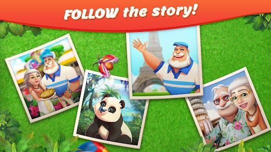 Tropical Forest: Match 3 Story Mod Apk (Unlimited Money) 5