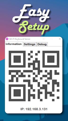 Foto do Wi-Fi Keyboard App