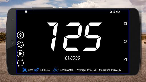 GPS Speedometer : Odometer: Trip meter + GPS speed 1.1.7 APK screenshots 2