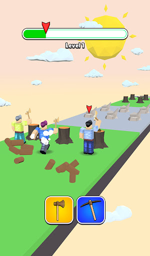 Roblock Transform Run - Epic Craft Race apkpoly screenshots 2